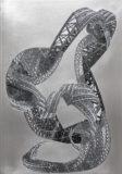 Dragon, 2014 Papiercollage auf Alluminium 50 x 40 cm Foto: Ben Hermanni, Lemgo