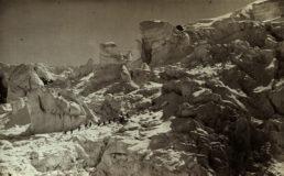 Louis Auguste Bisson und Auguste Rosalie Bisson, Ersteigung des Mont Blanc, 1862, Albuminabzug, Sammlung Museum für Photographie Braunschweig
