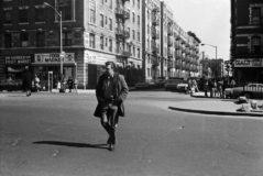 Jürgen Becker, aus der Serie New York 1972, 1972 © Jürgen Becker u SPRUNGTURM Verlag, Köln