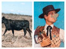 Ute Behrend, Kuh ohne Kopf & Cowboypuzzle<br> © 2021 UTE BEHREND