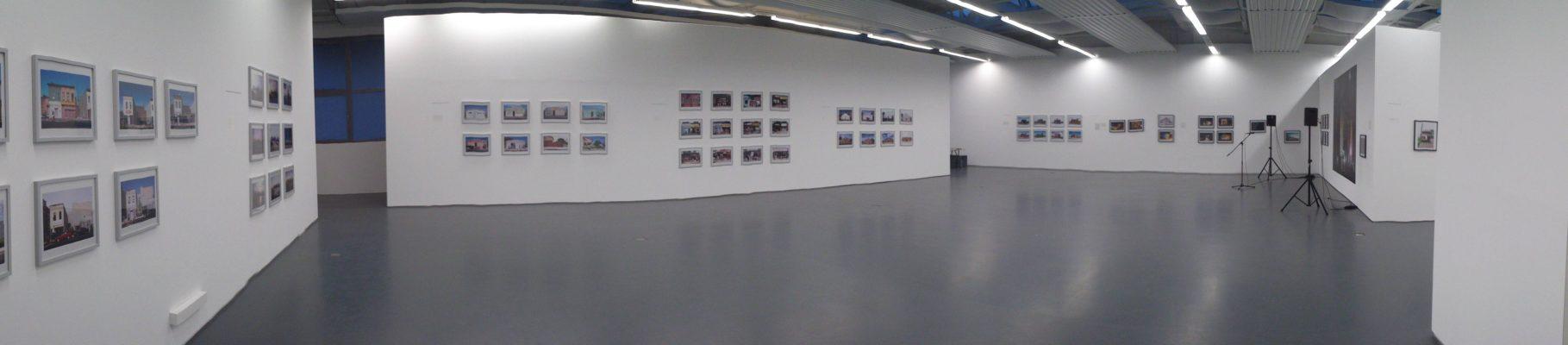 MfPh_Panoramaansicht Ausstellungshalle Hamburger Straße 267_Foto Uwe Brodmann