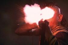 "Christian Marclay, Still aus ""Crossfire"", 2007"