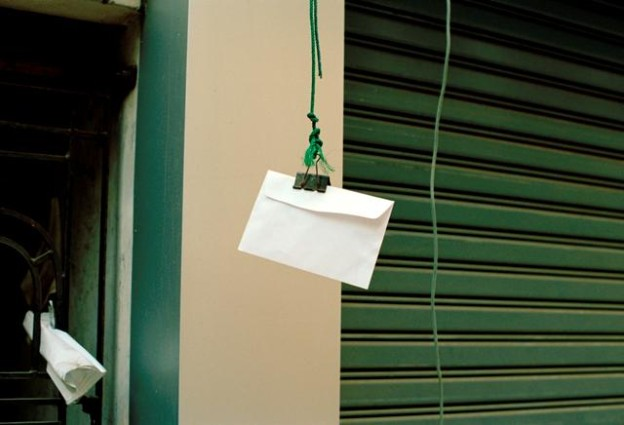 envelope, Rangoon 2012